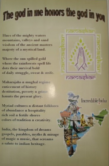 30.a poem I'd composed & designed abt india at a cultural nite in venezuela1