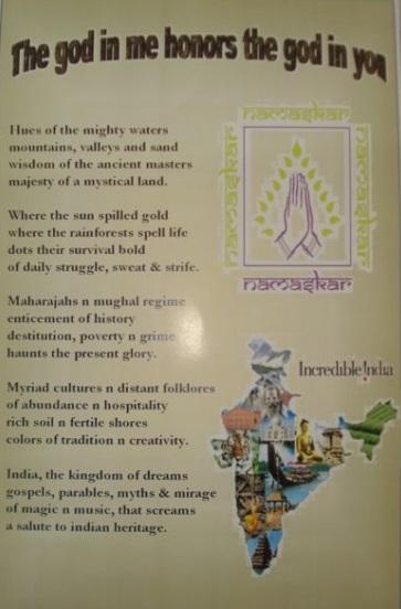 30.a poem I'd composed & designed abt india at a cultural nite in venezuela1
