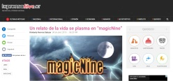 magicNine coverage at La prensa libre, CR