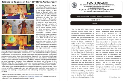 abunDance performance on Scouts bulletin, June 2017