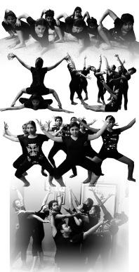 a dance production