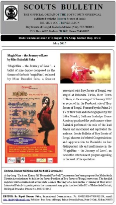 Scouts Bulletin reportage