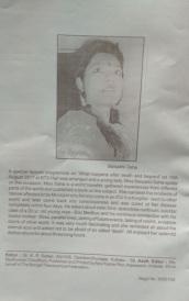 article published on Theosophical society magazine