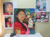 Portrait of Baisakhi by Evelyn Movil