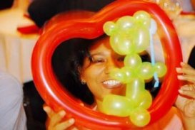 the heart balloon gifted to me by the clown at St. Gallen