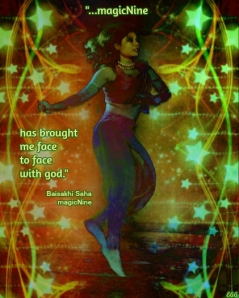 magicNine has brought me face to face with god