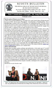 TEDxNainiWomen on Bengal Scouts Bulletin