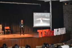 TEDxIGDTU Baisakhi Saha