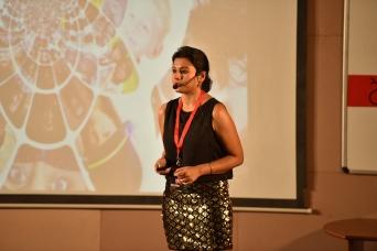 TEDxSiddagangaInstituteofTechnology, Baisakhi Saha