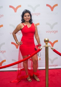 At a Red Carpet Gala by Voyage Media in LA