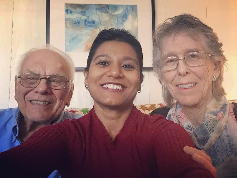 With Lena Ostroff & Wil Weber, my Servas hosts