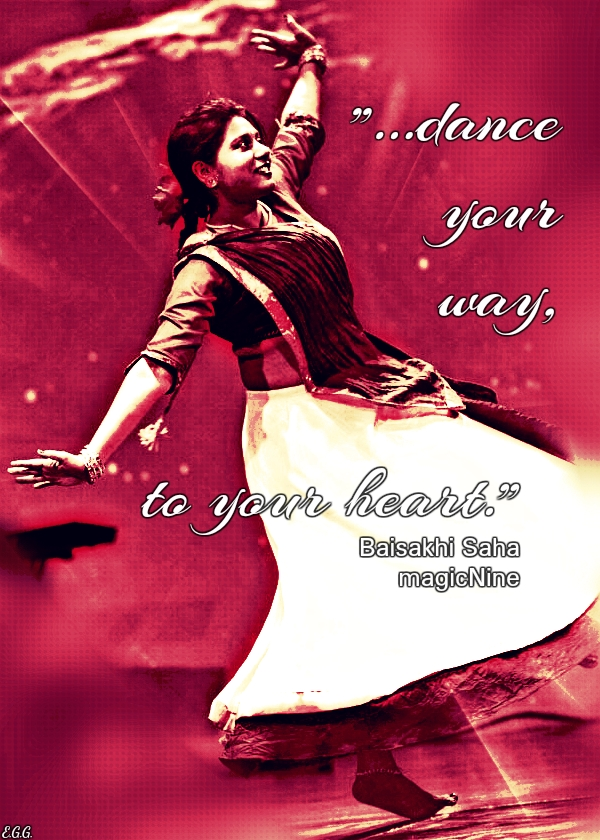 dance your way, to your heart